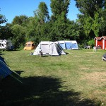 # Camping telte og hytter