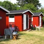 # Campingpladsen hytter