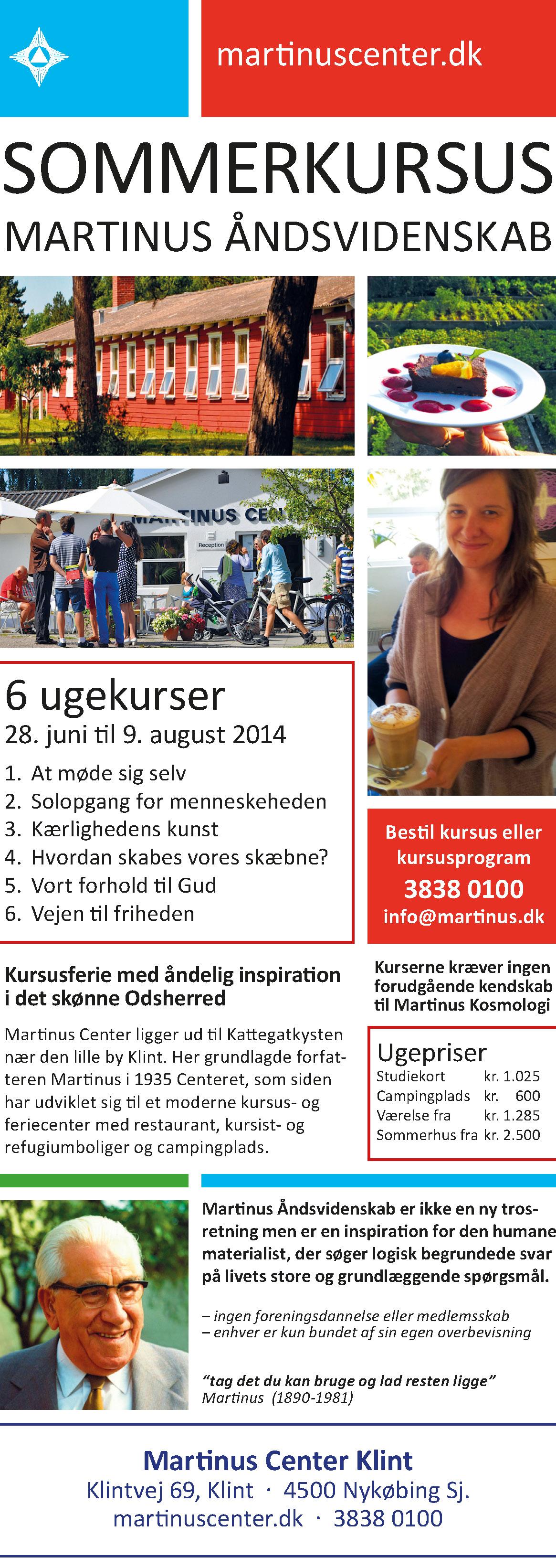 Annonce til Nyt Aspekt 2014-tryk