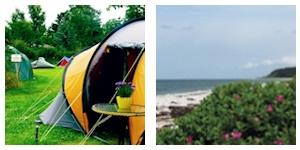 Camping i Klint