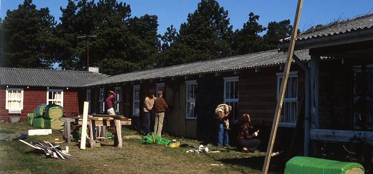 Der arbejdes på en pavillon, 1981