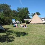 camping-flag-baggrund